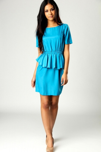 Helena Peplum Dress