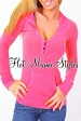Fuchsia Hoody Pocket Top