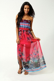 Felicity Bandeau Maxi Dress